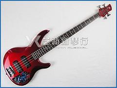 YAMAHA TRBX304 CAR 红色4弦贝司(主动拾音器)