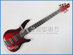 YAMAHA TRBX305 CAR 红色5弦贝司(主动拾音器)