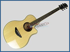YAMAHA APX700 II NT 单板民谣电箱吉他