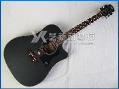 卡马 Kepma 升级款 D1C BKM 民谣吉他(黑色哑光 41寸)